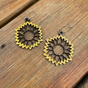 Sunflowery Day Earrings